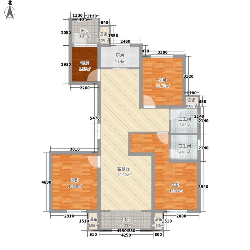 凯旋大道9#楼9F户型