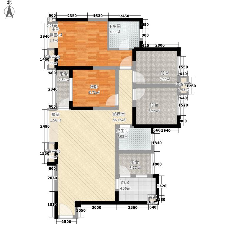 翡翠城五期120.00㎡翡翠城五期户型图户型图4室2厅2卫1厨户型4室2厅2卫1厨