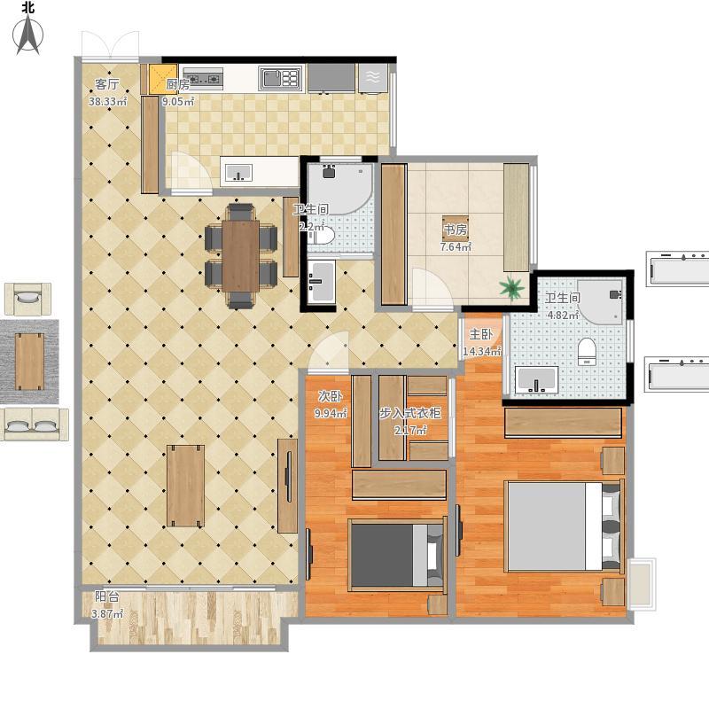 全国-中铁马家公馆112-设计方案