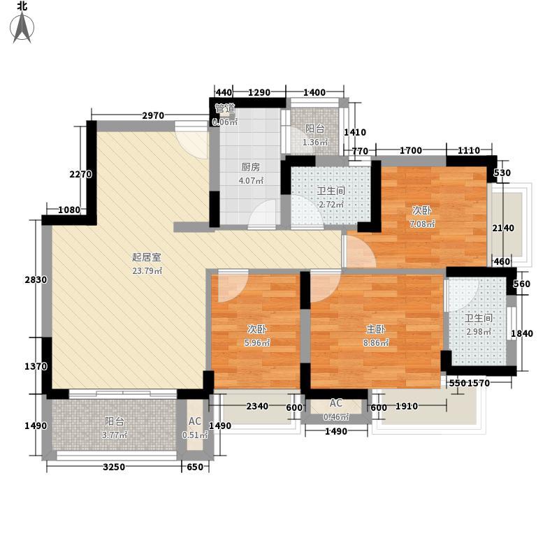 桂芳园七期桂芳园七期户型图三房二厅二卫一厨3室2厅2卫1厨户型3室2厅2卫1厨