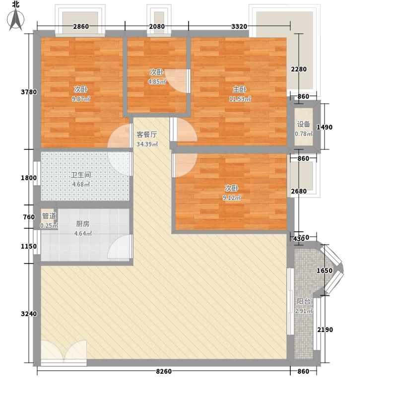 帝港海湾豪园深圳帝港海湾豪园户型图2户型10室