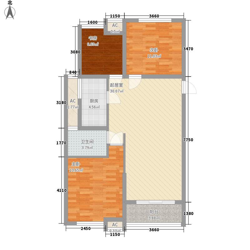 唐桥新村 3室 户型图