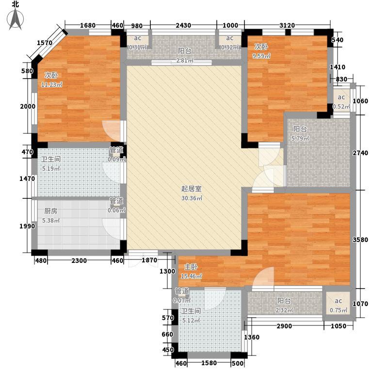 中大诺卡小镇138.00㎡中大诺卡小镇户型图2期小高层2#楼L-D5户型3室2厅2卫户型3室2厅2卫