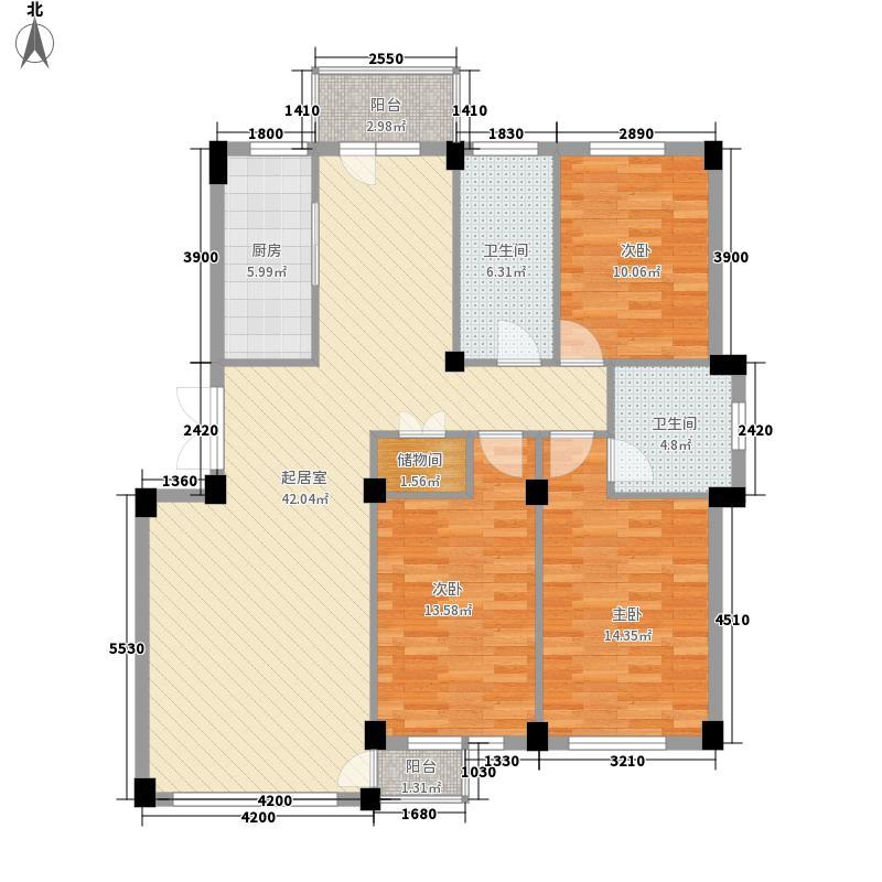 海印悠山125.00㎡海印悠山户型图户型图3室2厅2卫1厨户型3室2厅2卫1厨