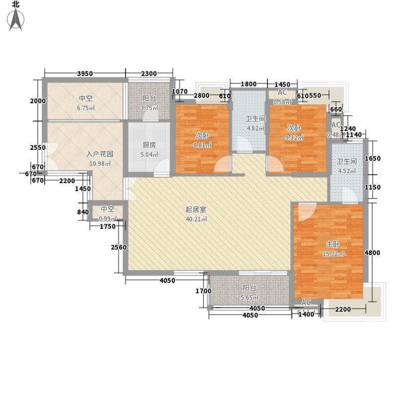 金域中央天越 3室2厅