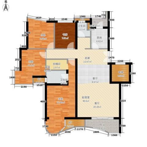 汇贤居4室0厅2卫1厨164.00㎡户型图