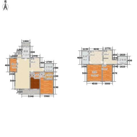 世嘉光织谷4室0厅4卫1厨266.00㎡户型图