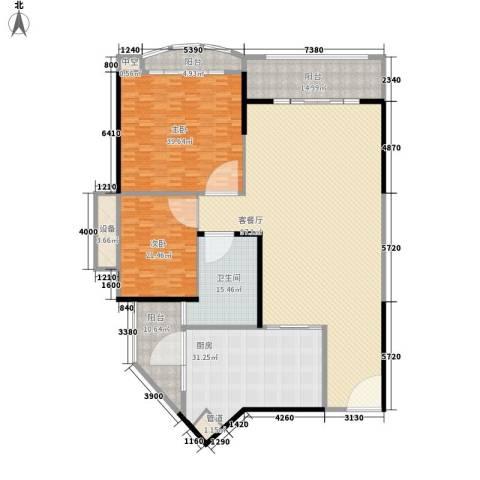 新基商住楼2室1厅1卫1厨330.00㎡户型图