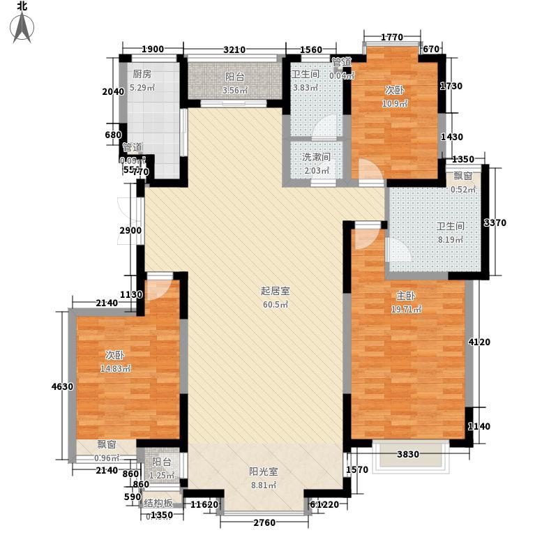 欧风丽景16.00㎡f2、m1户型3室2厅2卫1厨