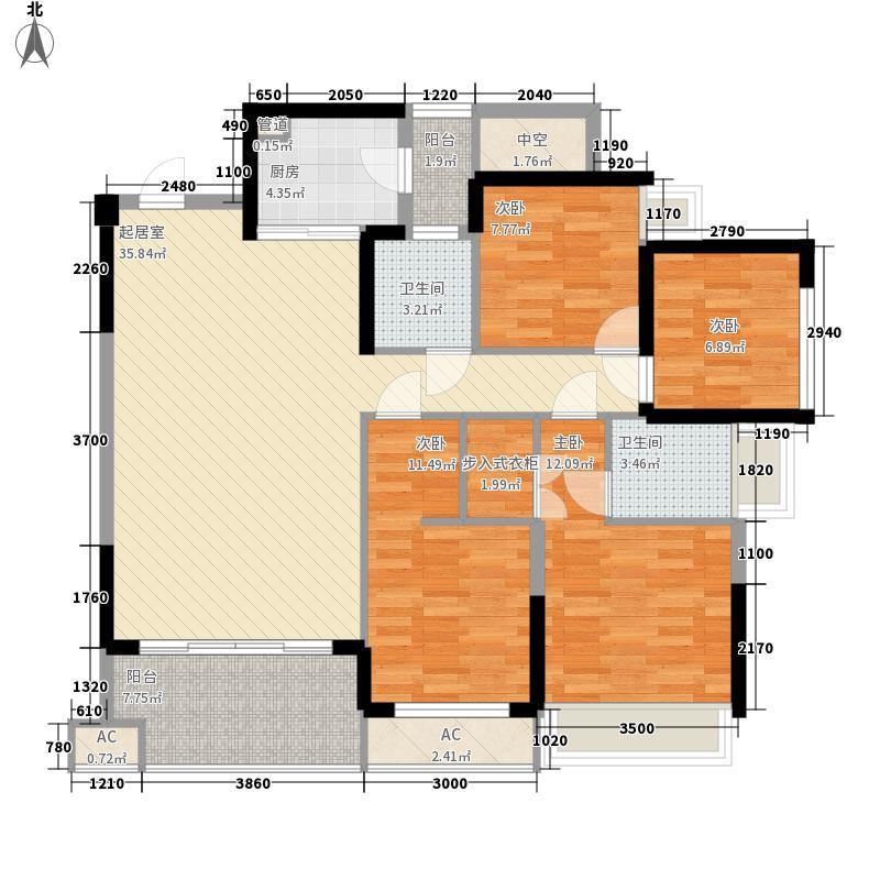 北湖北路手拖厂宿舍户型4室2厅2卫1厨