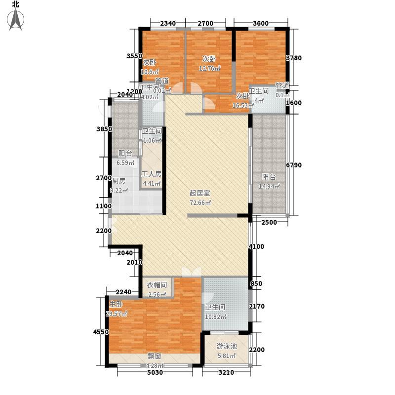 兰江山第户型图255平户型 5室3厅2卫1厨