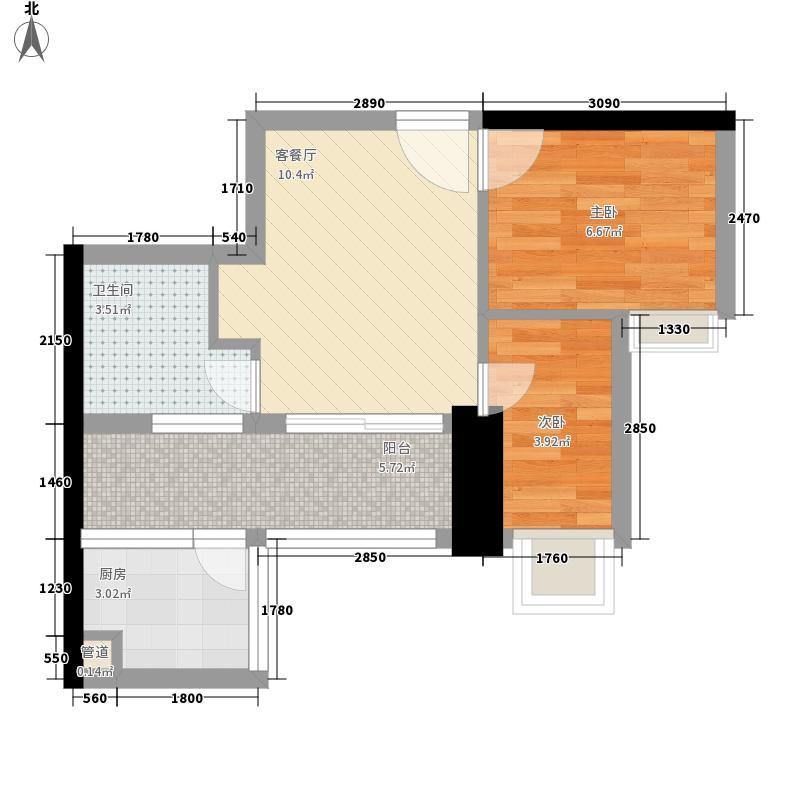 阳光花园五期50.82㎡阳光花园五期户型图户型图72室1厅1卫1厨户型2室1厅1卫1厨