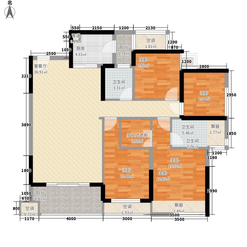 地宝小区_调整大小户型4室2厅2卫1厨