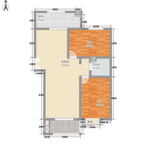 新力景瑞新城2室0厅1卫1厨113.00㎡户型图