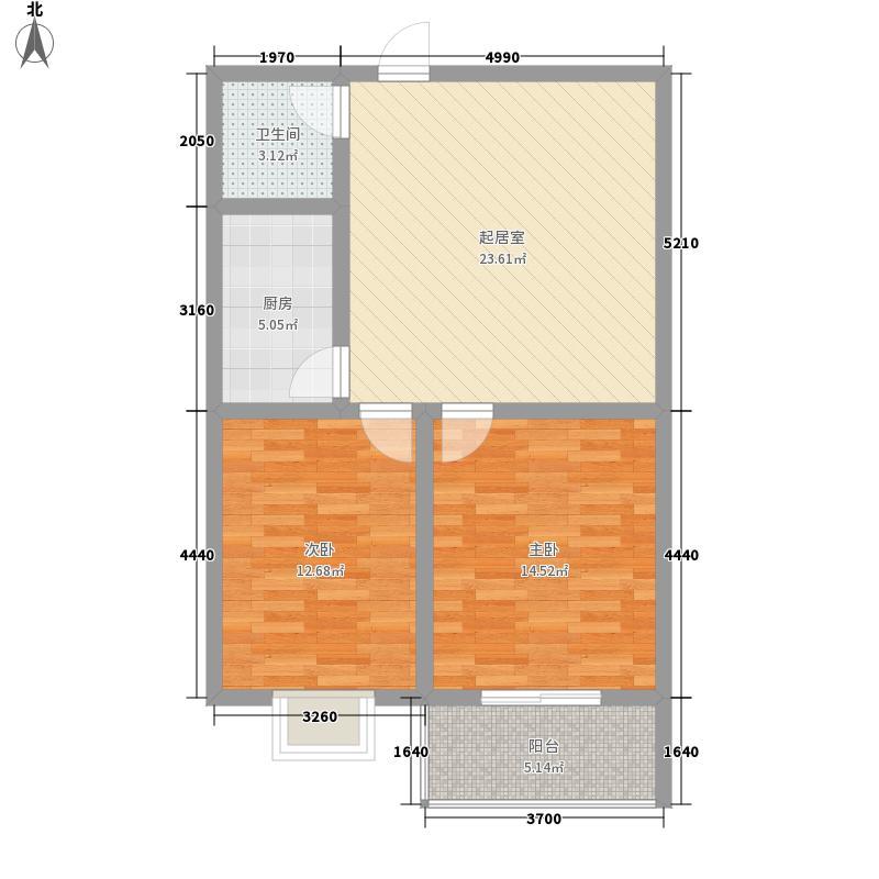 诚和家园91.50㎡诚和家园户型图户型图(7)2室1厅1卫1厨户型2室1厅1卫1厨