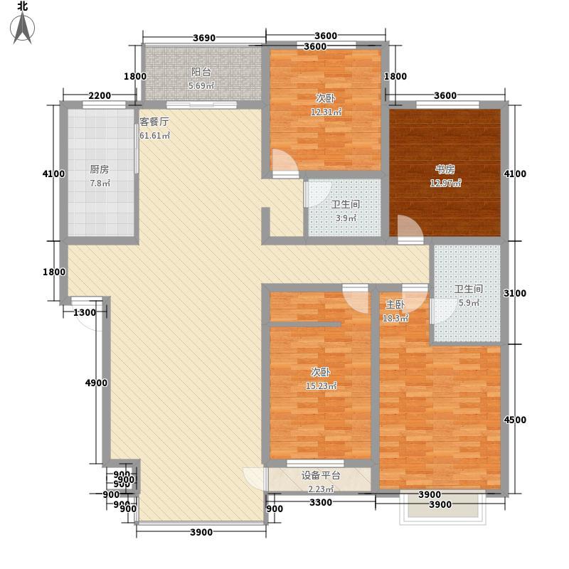 九合家园九合家园户型图桥华4室2厅4室户型4室
