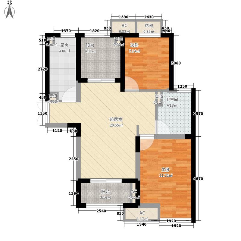 雍合湾90.00㎡雍合湾户型图户型图2室2厅1卫1厨户型2室2厅1卫1厨
