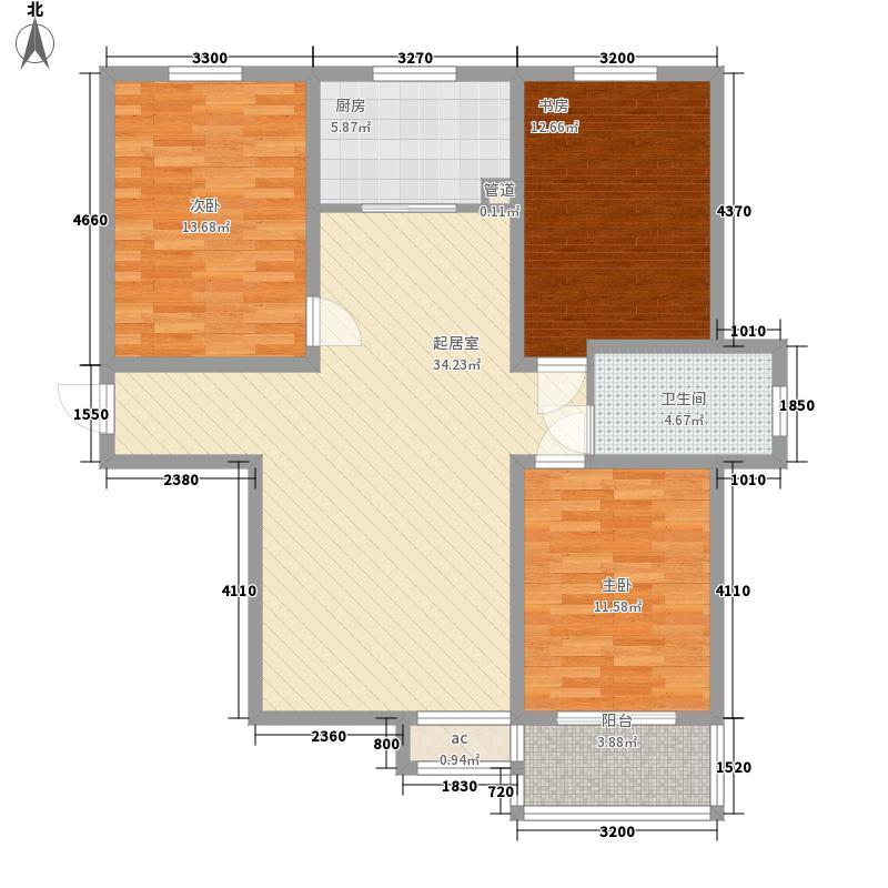华城绿洲二期113.00㎡华城绿洲二期户型图4号户型3室2厅1卫1厨户型3室2厅1卫1厨