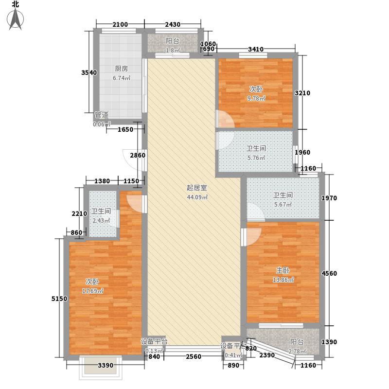 大唐・荣城157.98㎡大唐・荣城A6户型3室2厅2卫1厨157.98㎡户型3室2厅2卫1厨