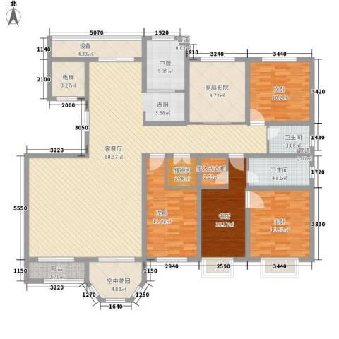 枫丹白露4室1厅2卫0厨212.00㎡户型图