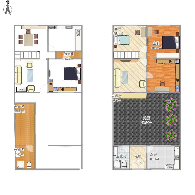 南苑小区13-3全套平面图