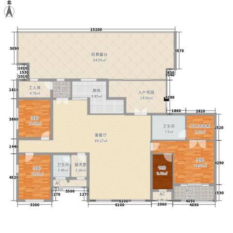新东方国际4室1厅2卫1厨269.42㎡户型图