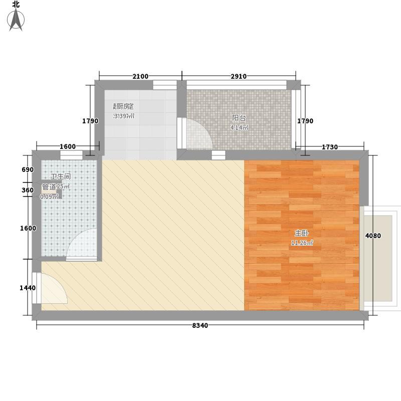 城市天地深圳城市天地广场户型图1户型10室