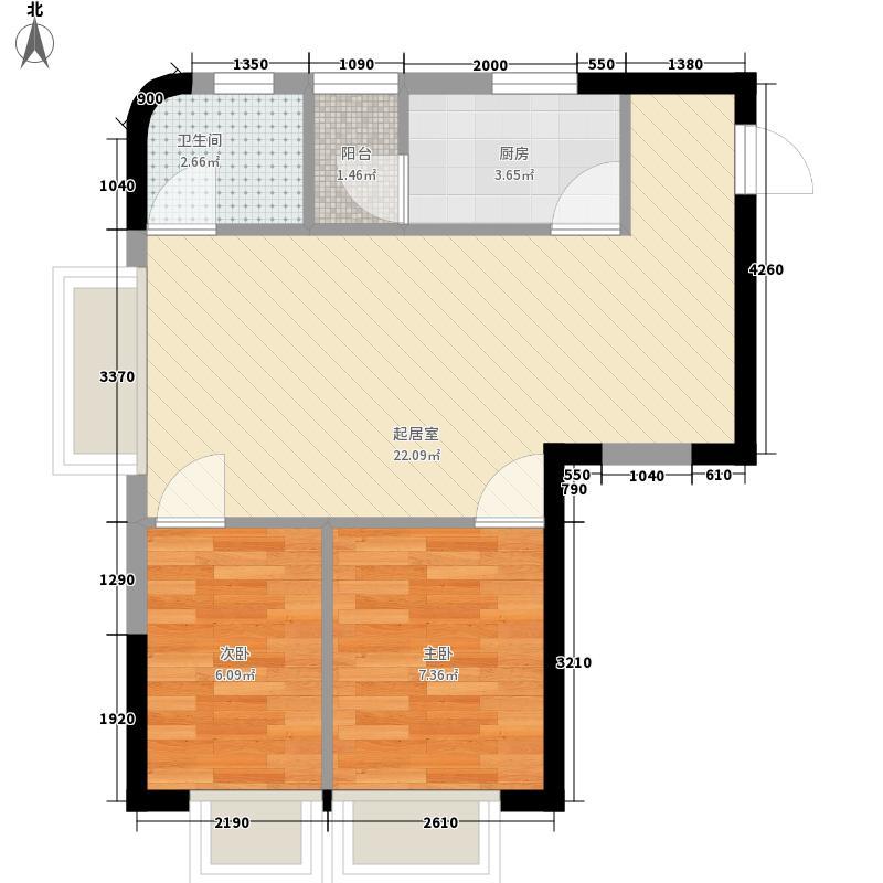 罗湖金岸罗湖金岸户型图户型图2室2厅1卫1厨户型2室2厅1卫1厨