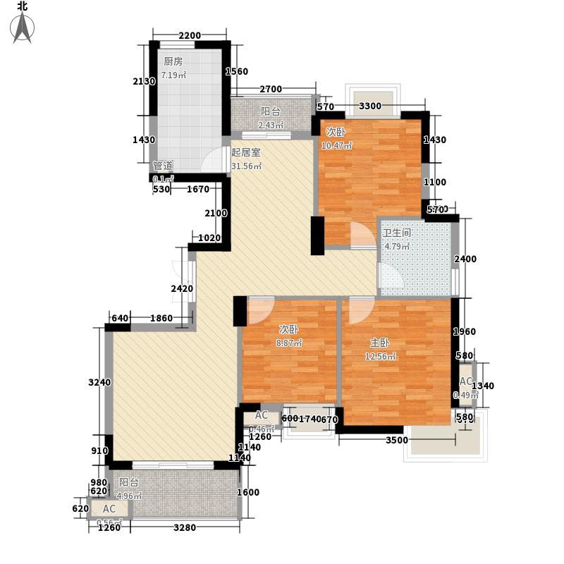 嘉鑫园144.00㎡嘉鑫园3室户型3室