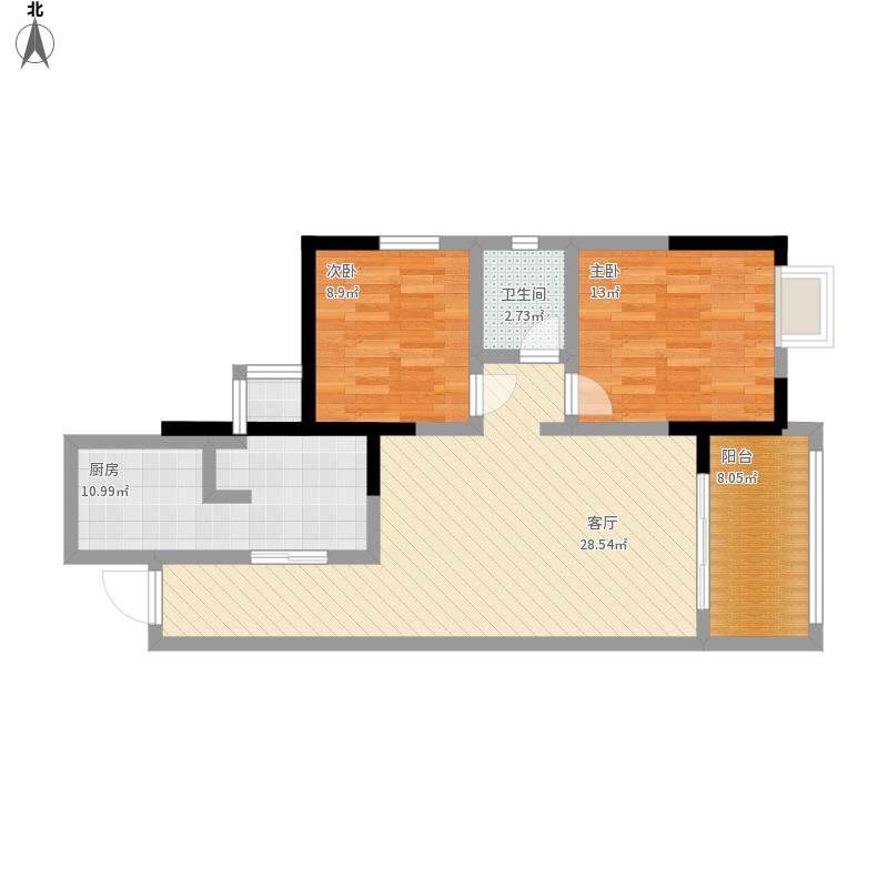 谢姐的两室两厅