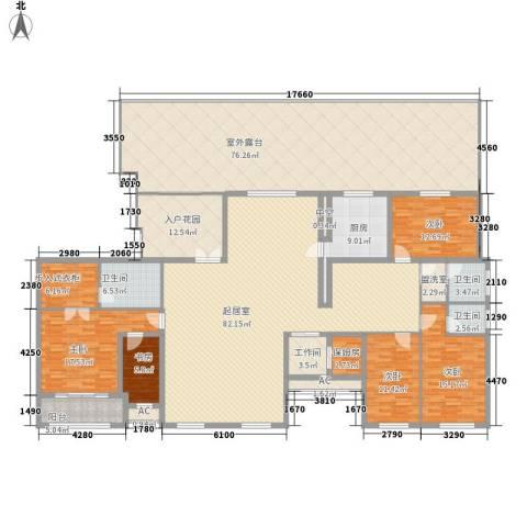 新东方国际5室0厅3卫1厨306.87㎡户型图