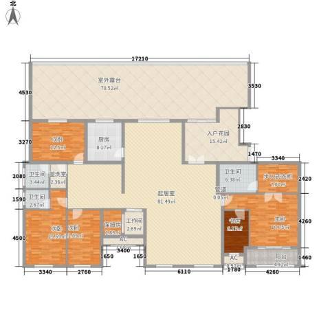 新东方国际5室0厅3卫1厨303.09㎡户型图
