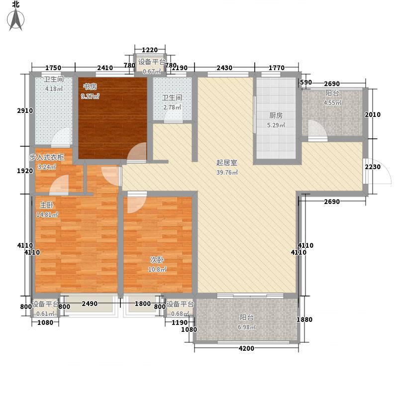 西安航天城1、3、4、5、6号楼E户型
