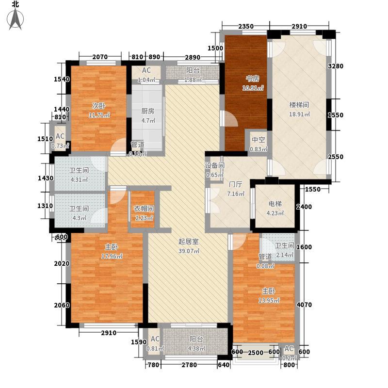 铂金府邸22#楼户型