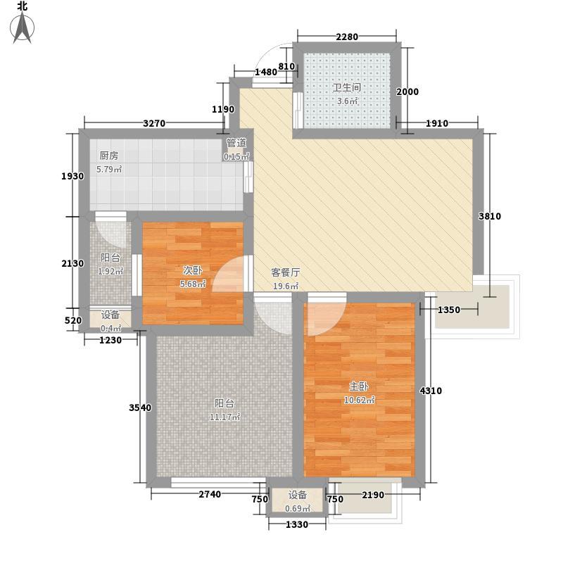 新里魏玛公馆88.00㎡新里魏玛公馆户型图舒适三房3室2厅1卫1厨户型3室2厅1卫1厨