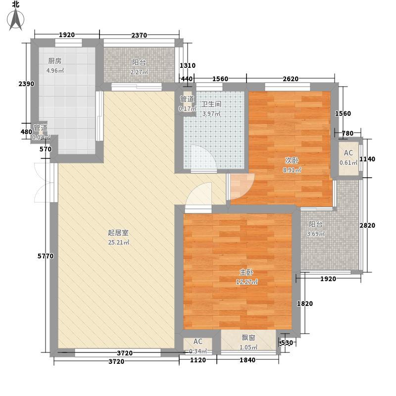丽景花园90.67㎡丽景花园户型图户型图2室2厅1卫户型2室2厅1卫