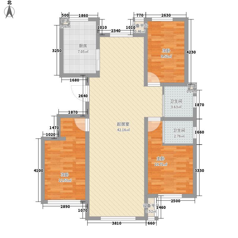 水悦华庭128.00㎡水悦华庭户型图N户型3室2厅2卫1厨户型3室2厅2卫1厨