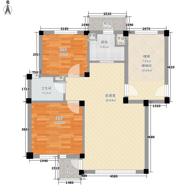 隆成壹品81.00㎡隆成壹品户型图户型2室2厅1卫1厨户型2室2厅1卫1厨