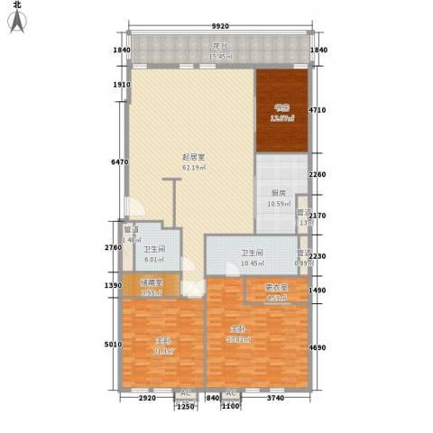 瑞安·君汇3室0厅2卫1厨246.00㎡户型图