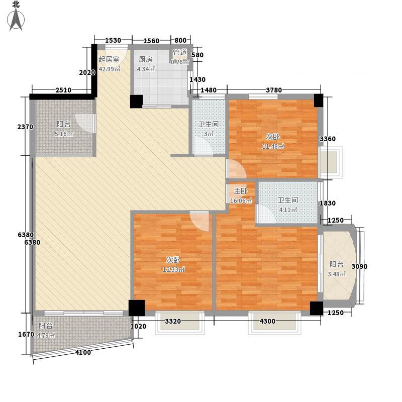 颐和上院二期134.00㎡颐和上院二期户型图3座01单位3室2厅2卫1厨户型3室2厅2卫1厨