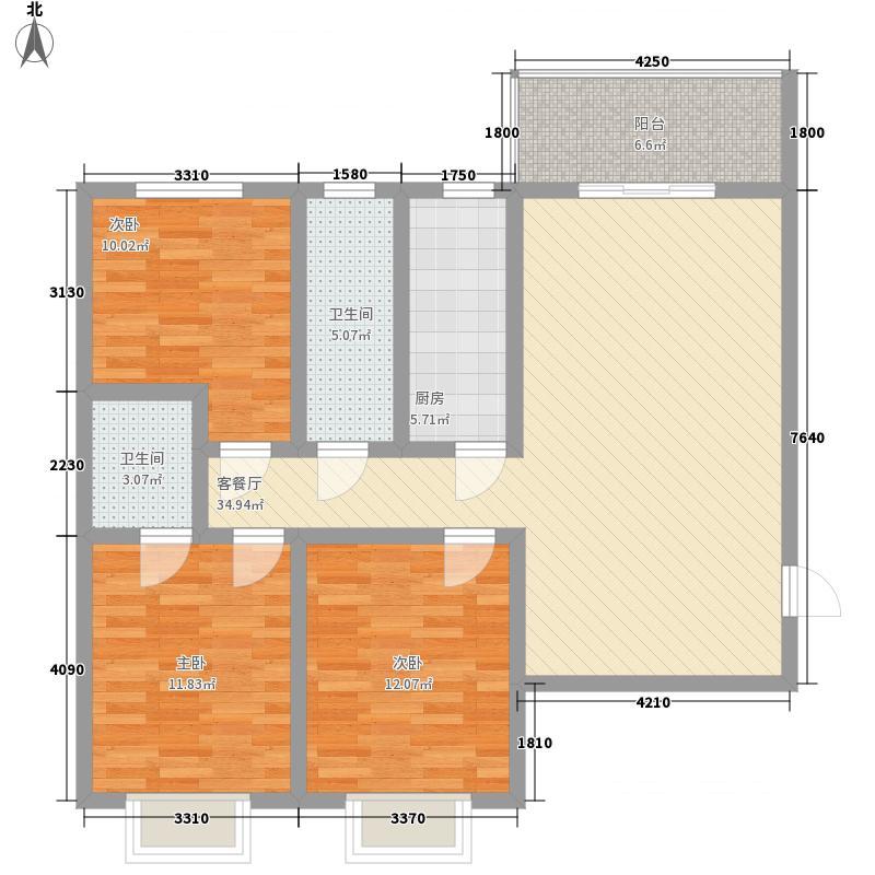 西溪里象牙湾3#楼A-4户型