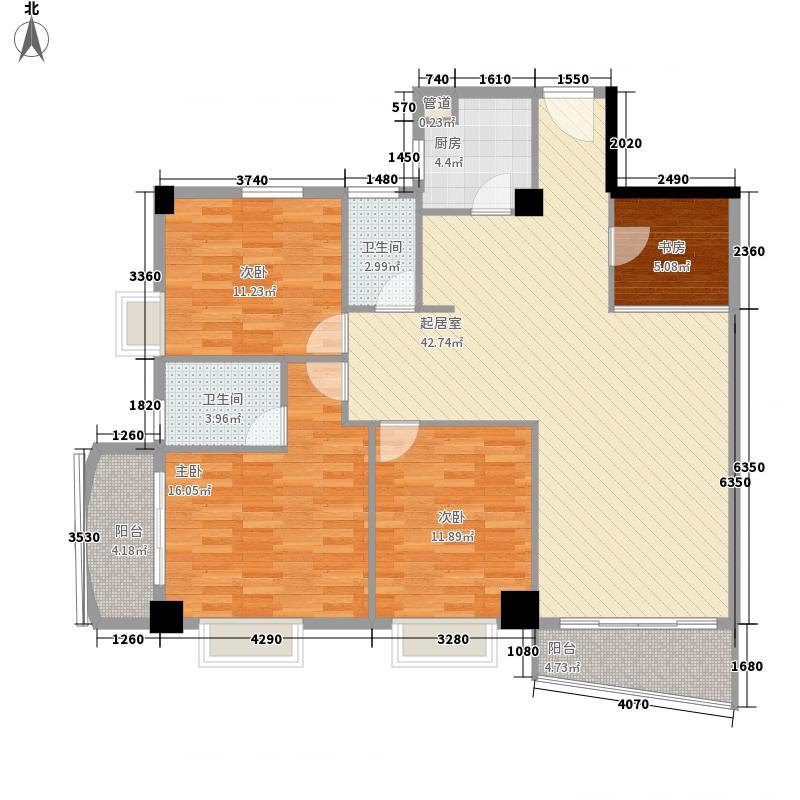 颐和上院二期134.00㎡颐和上院二期户型图3座02单位3室2厅2卫1厨户型3室2厅2卫1厨