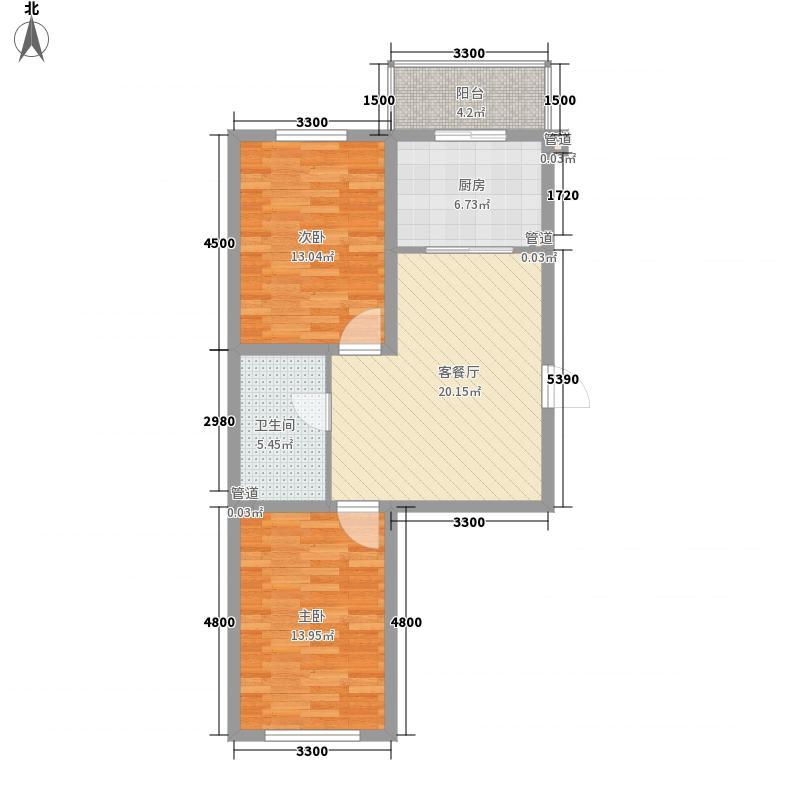 方家栏小区60.00㎡方家栏小区2室户型2室
