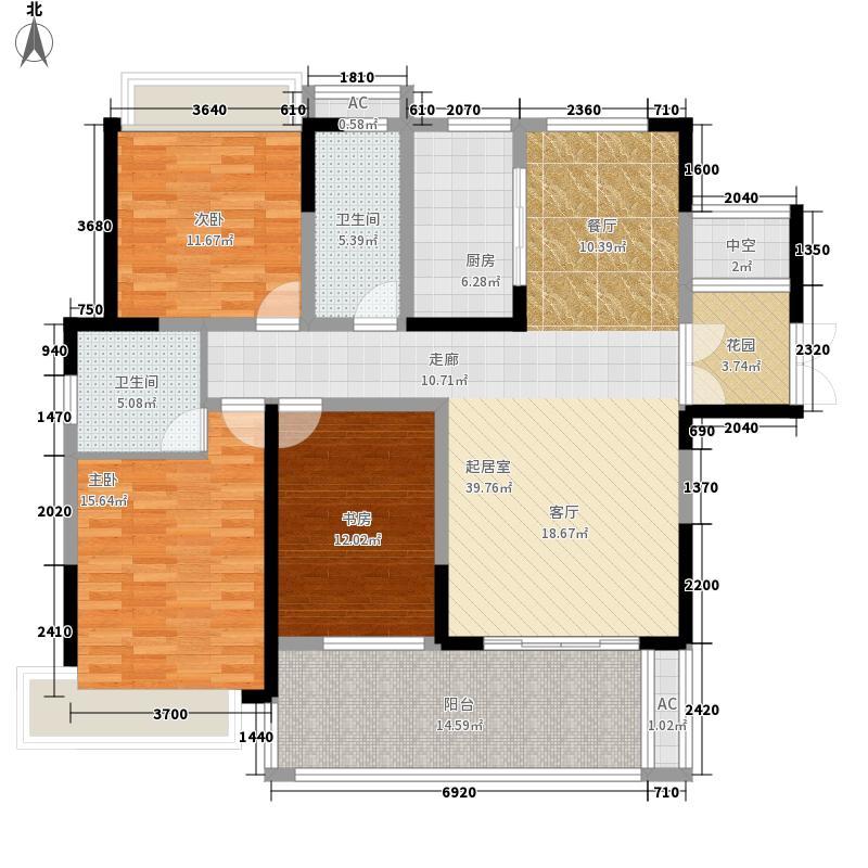玖珑湾小区2栋三房两厅两卫