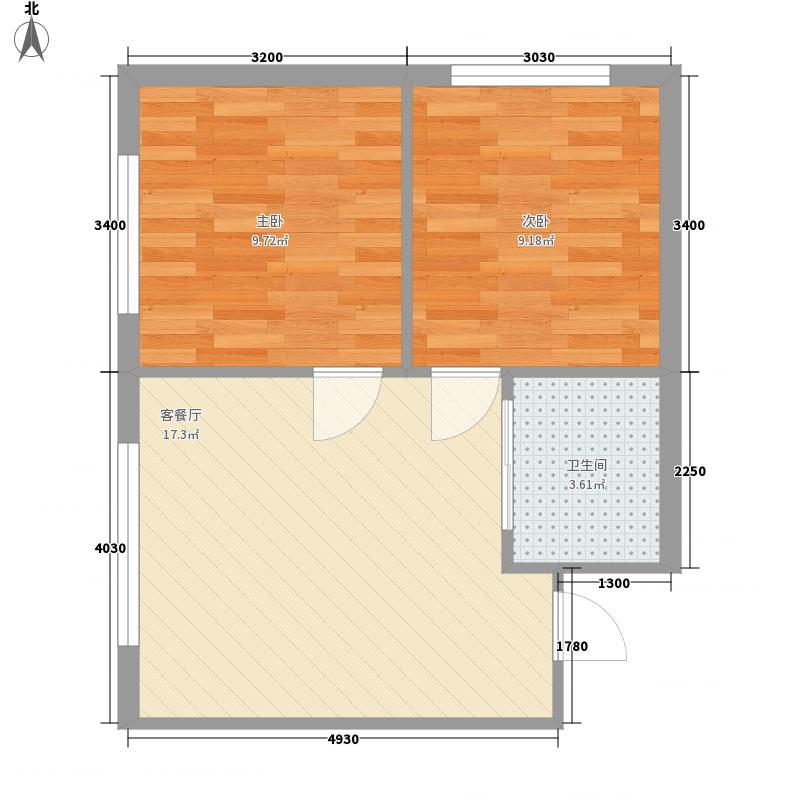 高新花园60.00㎡高新花园60.00㎡10室户型10室