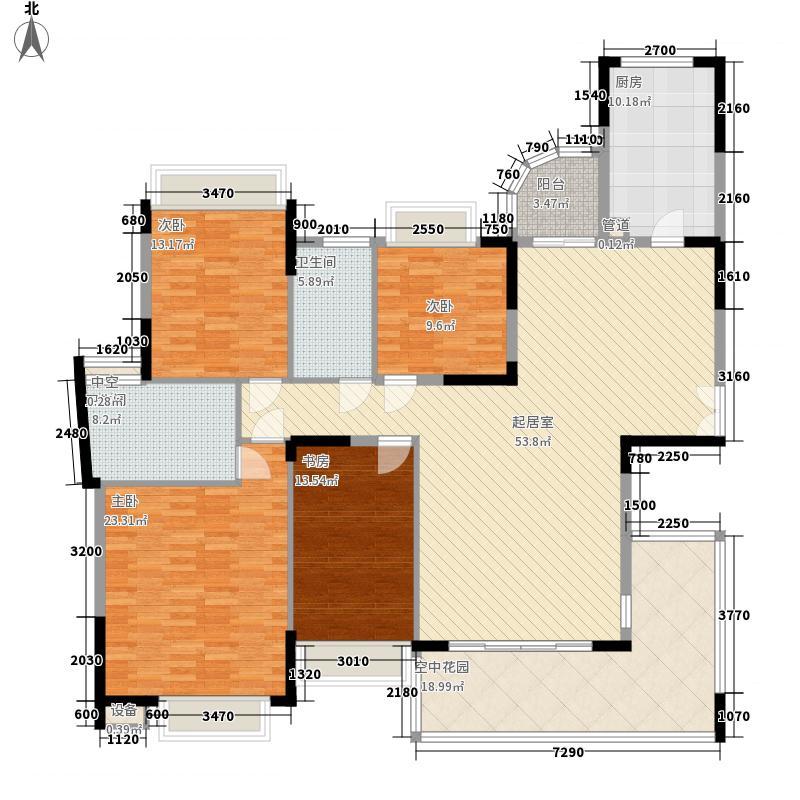 松山湖和堂180.00㎡松山湖和堂4室2厅户型4室2厅