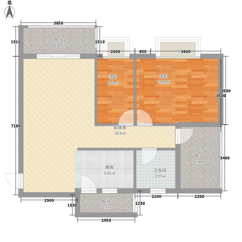 馨雅小苑2#楼B户型