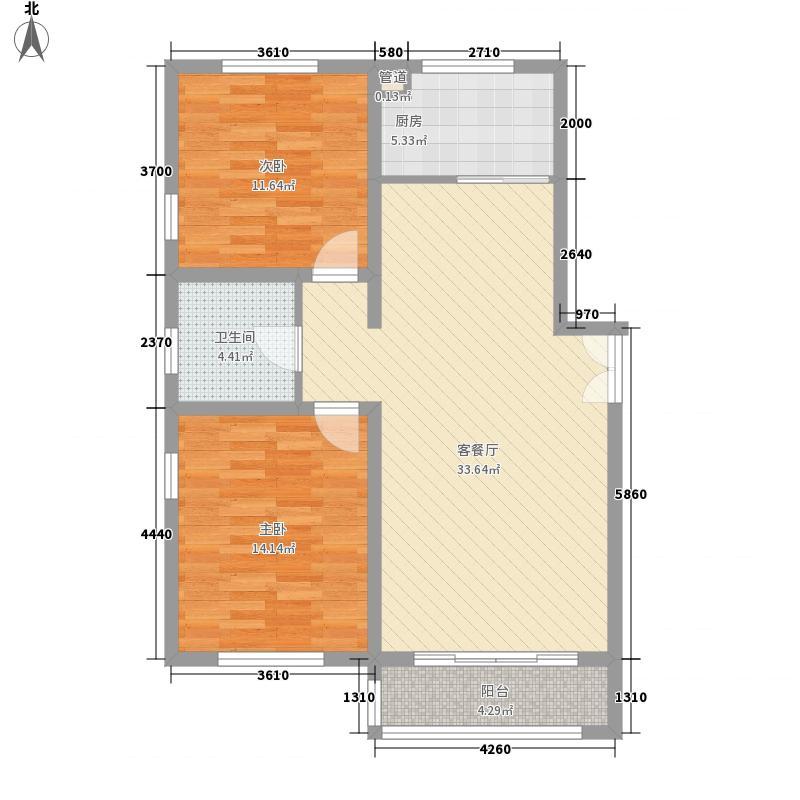 景苑公寓A户型
