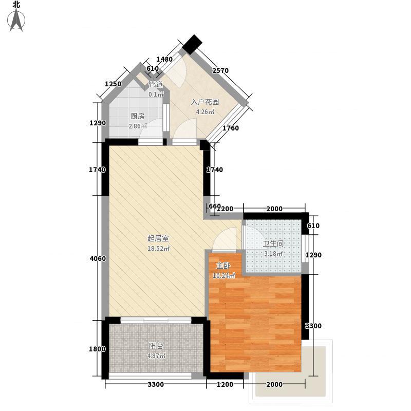 广东街三期3栋C、D户型1室1厅1卫1厨