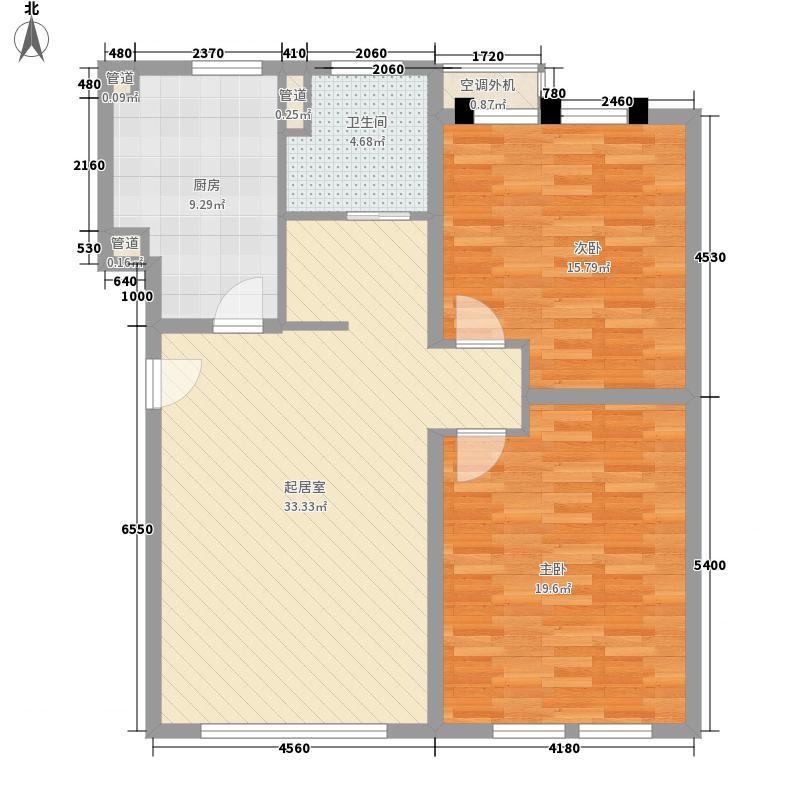 明珠家园116.00㎡明珠家园2室户型2室